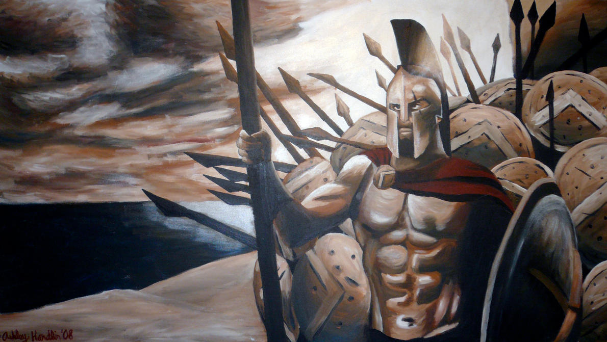 King Leonidas by asher27 on DeviantArt