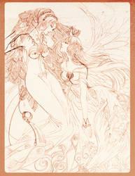 whisper, in second sketchbook by jiuge