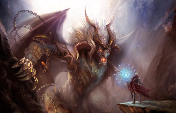 Niveles de monstruos por piso The_duel_by_jiuge