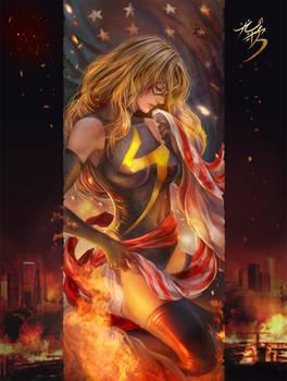 MS.Marvel fan art