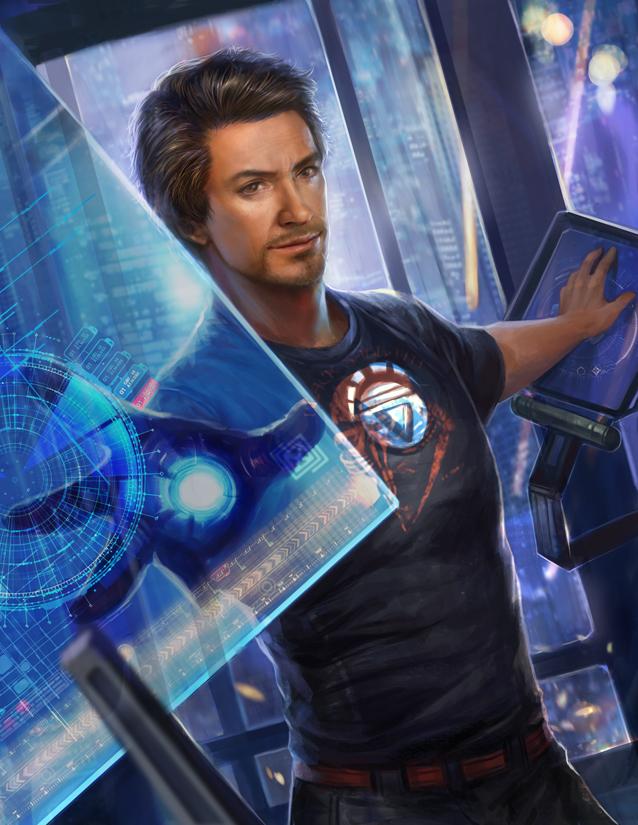 Iron man by jiuge