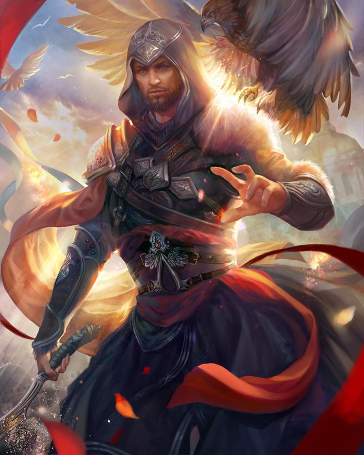 Ezio by jiuge