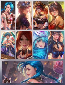 ladys of League of legends