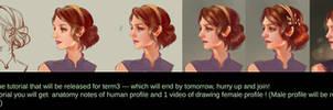 female profile tutorial