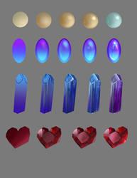 How To Draw Gems by jiuge