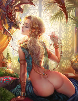 Kiss from a dragon by jiuge