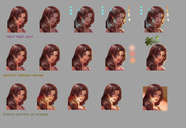 lighting tutorial part 2 by jiuge