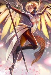 Mercy Fan art and see you at AX