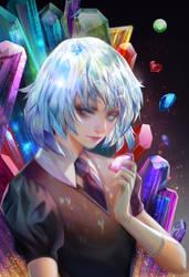 Diamond fan art by jiuge