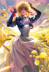 Violet Evergarden fan art