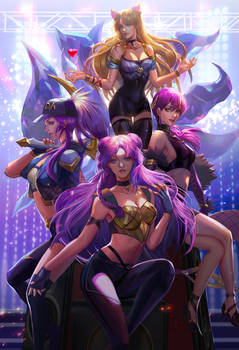 KDA fan art