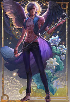 Devil may cry four season poster summer for V