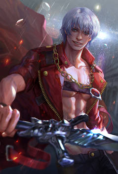 Devil may cry3 Dante fan art
