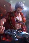 Devil may cry3 Dante fan art