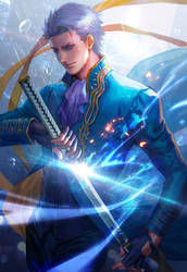 Devil may cry3 Vergil fan art