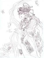 chinese fairy by jiuge