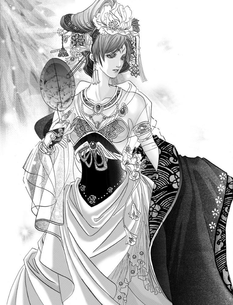 Anime dress drawing