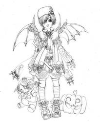 halloween prince by jiuge