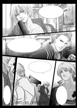 dmc3 doujinshi --sample pages