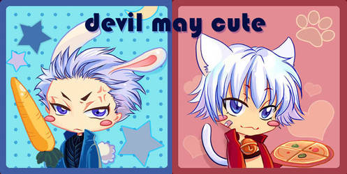chibi dante and vergil