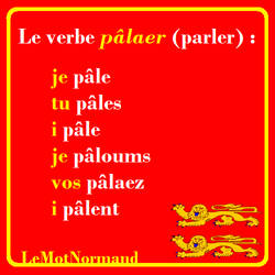 Verbes normands #14 palaer by sewandrere