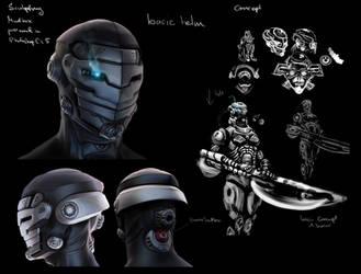 Cyber head study by BaoVu