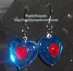 Heart Piece LOZ Earrings