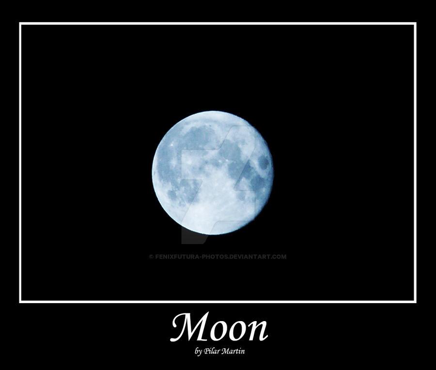 Moon by Fenixfutura-photos
