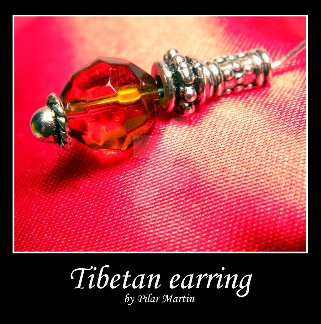 Tibetan earring. by Fenixfutura-photos