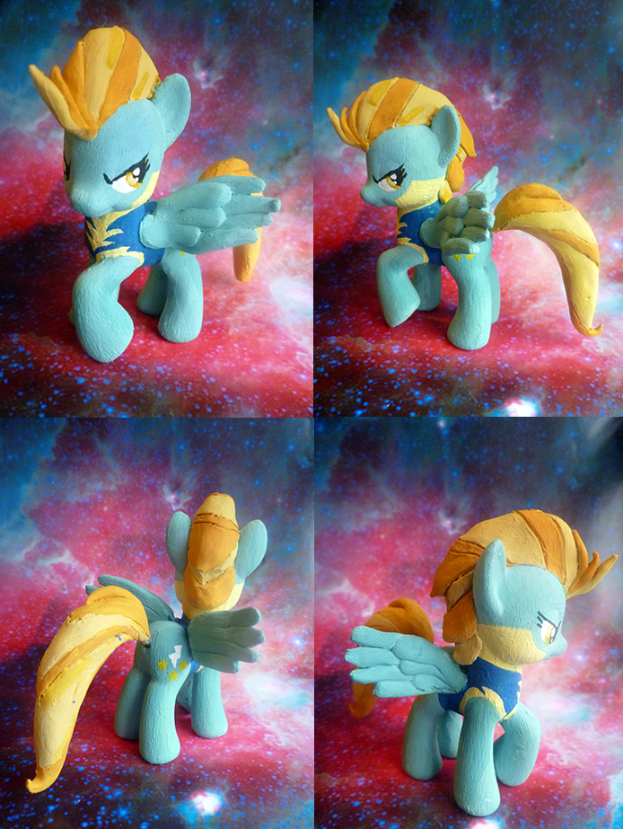 My Little Lightning Dust by mooncustoms