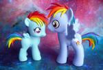 Rainbow Dash and Rainbow Dad