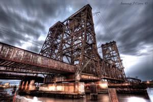 Amtrak Lift Bridge by Inno68