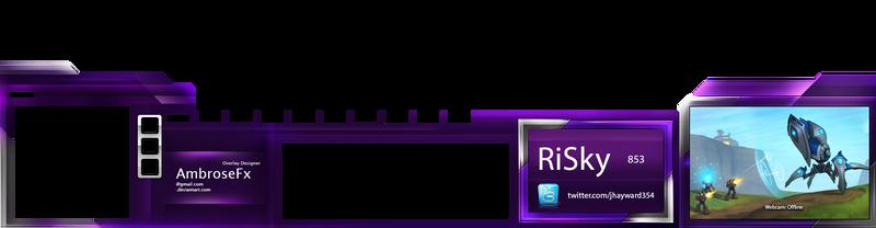 StarCraft Overlay: Riskyx