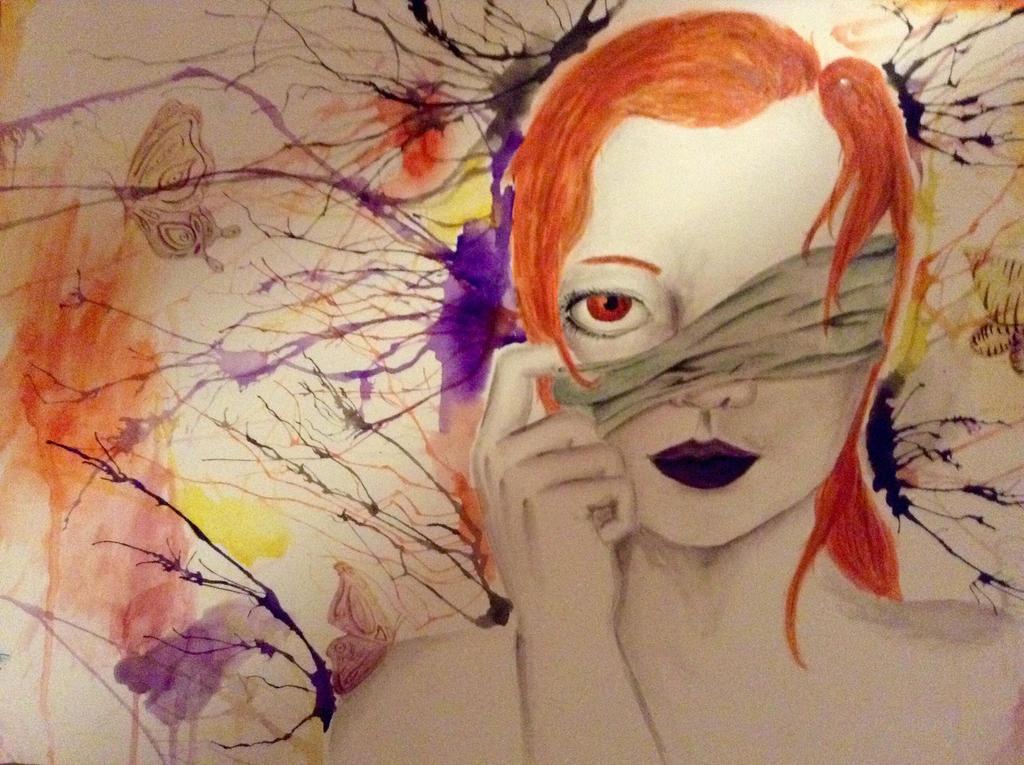 Watercolor by Dreameater55taker