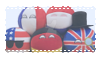 Countryball plushie stamp by RetroMarten
