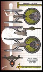 I.S.S. Enterprise NCC-1701 by stourangeau