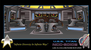USS Titan Bridge