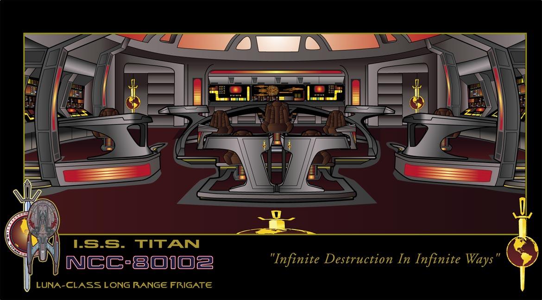 ISS Titan Bridge by stourangeau