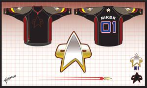 Starfleet Hockey Jersey