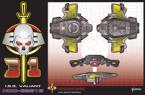 I.S.S.Valiant by stourangeau