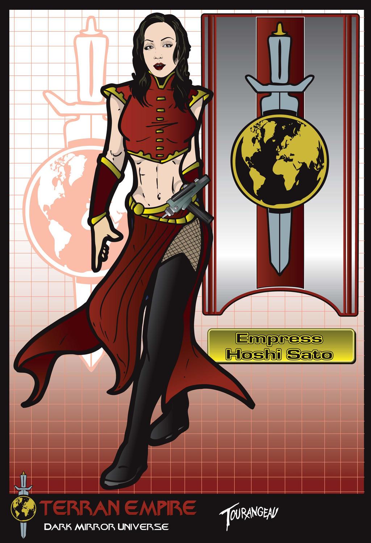 Empress Sato by Groovygoddess on DeviantArt