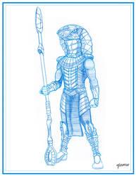Jaffa Sketch by stourangeau