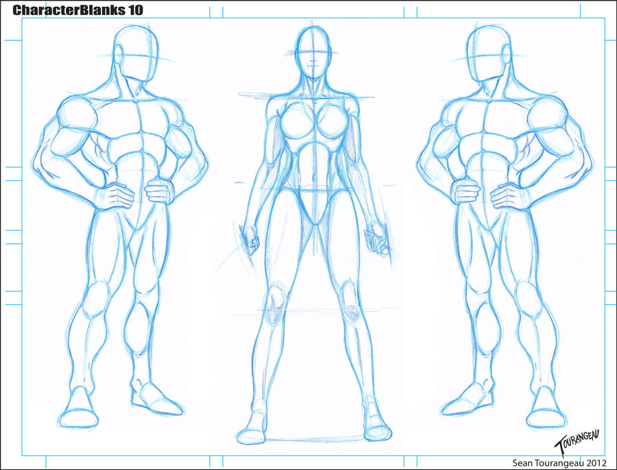 Comic Book Character Design Template : Blank templates by stourangeau on deviantart