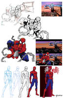The Amazing Spider-man WIP by stourangeau
