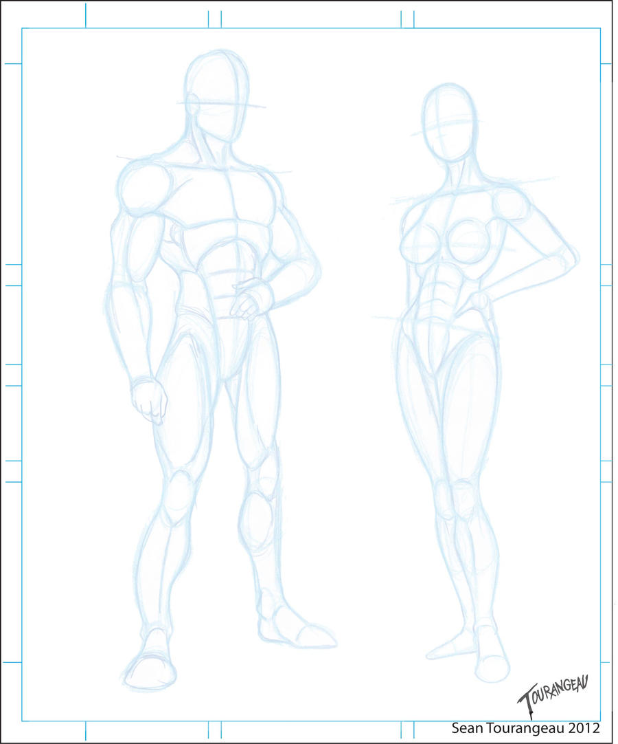 Character Design Sheet Template : Blank templates by stourangeau on deviantart