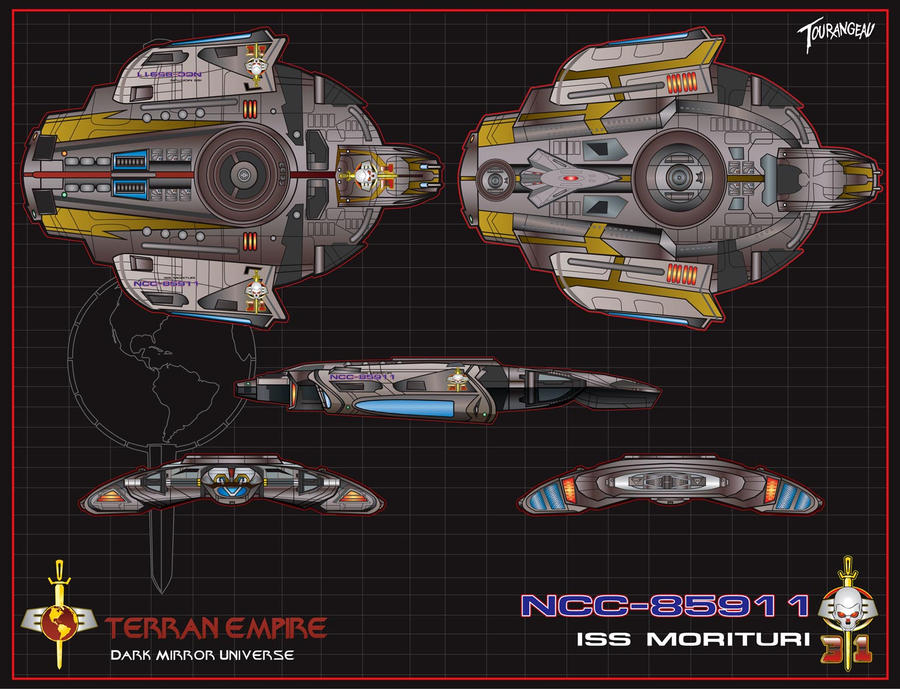 ISS Morituri NCC-85911 by stourangeau