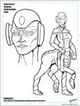 StarTrek/Andromeda Vedran Inks by stourangeau