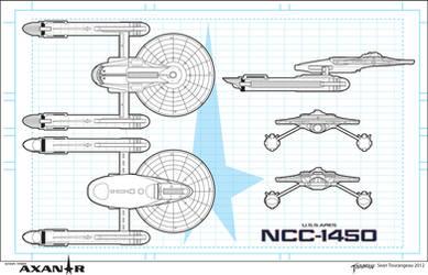 U.S.S. Ares NCC-1450 by stourangeau