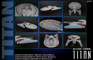 My Personal U.S.S.Titan Model by stourangeau