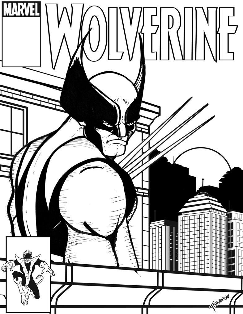 Wolverine by stourangeau